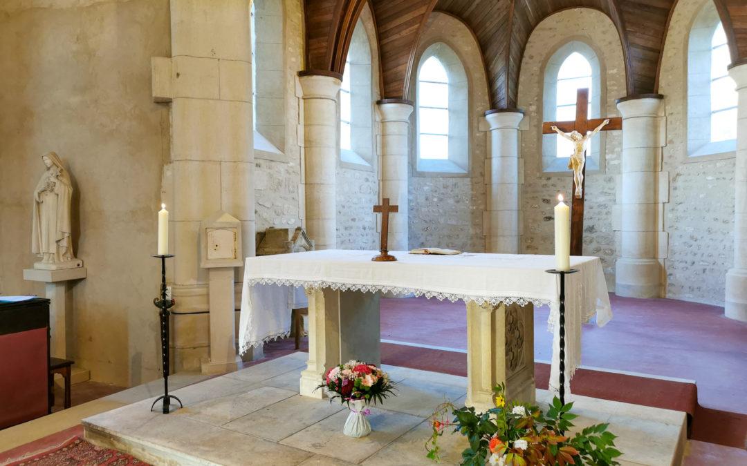 Chantier de rénovation de l'église